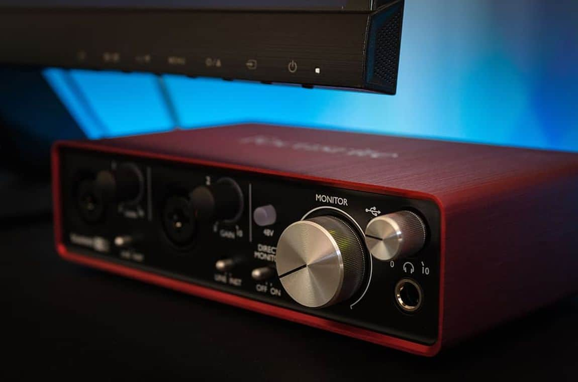 Red Audio Interface