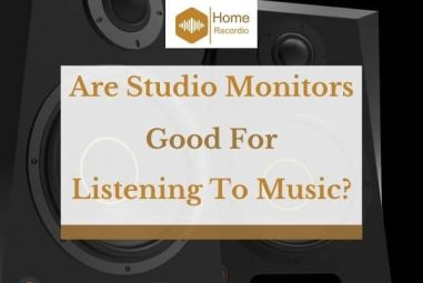 Are Studio Monitors Good For Listening To Music?