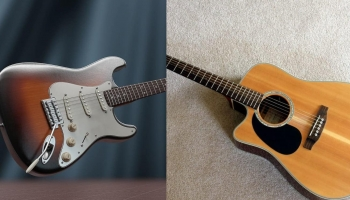 Electric vs Acoustic Guitar Beginner Guide